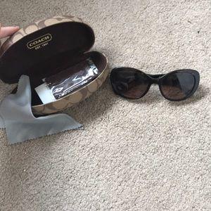Coach Accessories - Coach sunglasses w original case and accessories